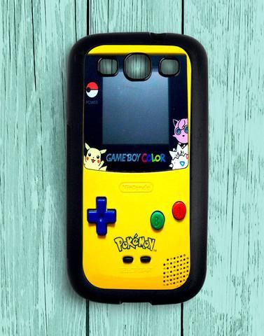 Gameboy Colour Pokemon Samsung Galaxy S3 Case