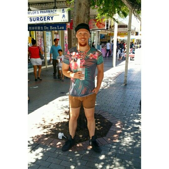 Tropical Summer Urban Fashion