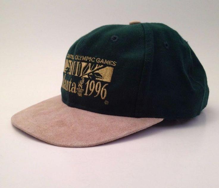 Vintage Centennial Olympic Games Atlanta Georgia 1996 Green Cap Hat Collectable #TheGame