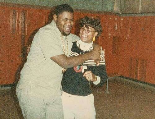 Back in tha day-Biz Markie and Queen Latifah!!