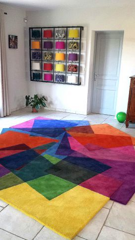 After Matisse - Contemporary Modern Area Rugs by Sonya Winner