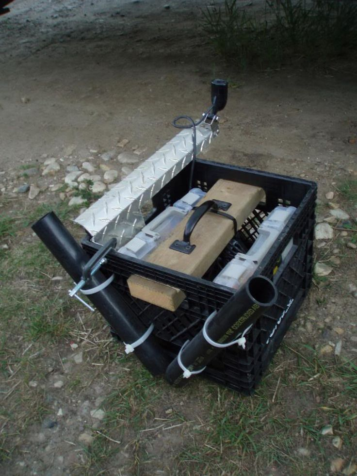 Canoe fishing rig up, pick heavy - Alberta Outdoorsmen Forum