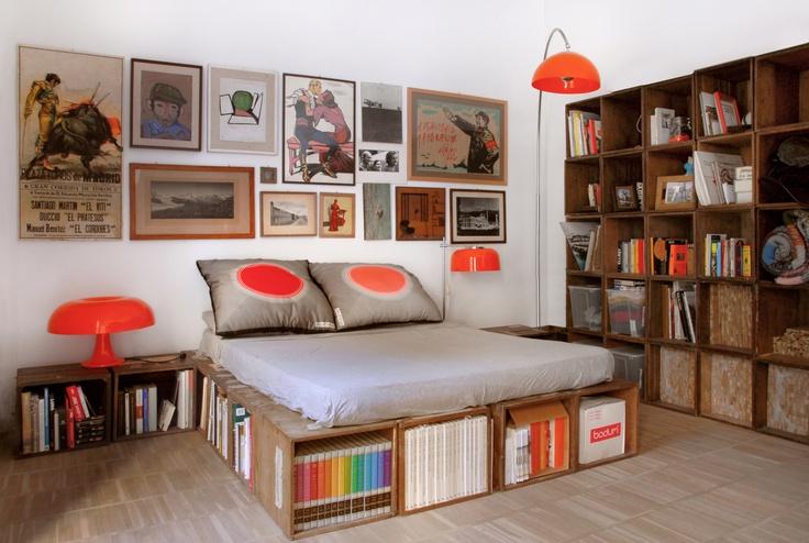 box house - bedroom