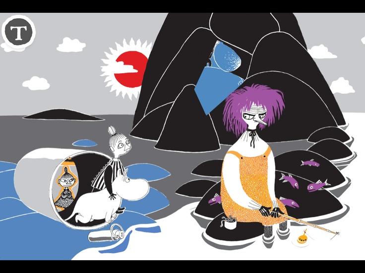 The Book About Moomin, Mymble and Little My / Muumi - Kuinkas sitten kävikään? / Mumin - Hur gick det sen? / Mummi - Hvordan gikk det? / Mumi - Hvad sker der så?  http://www.spinfy.com/apps/storybooks/the-book-about-moomin-mymble-and-little-my/