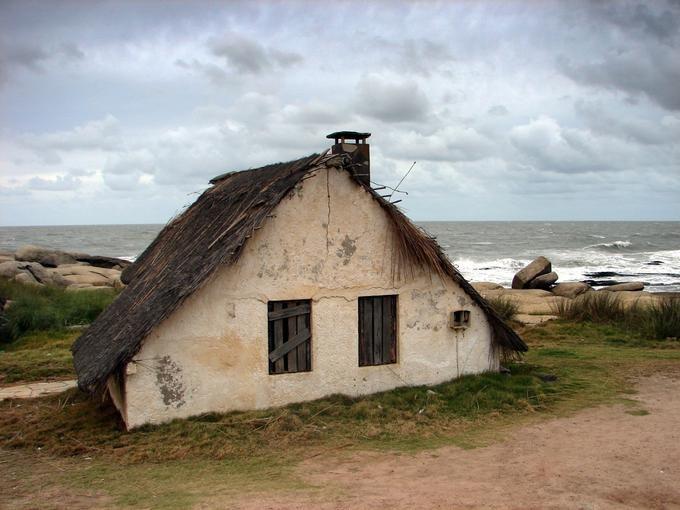 old sea house