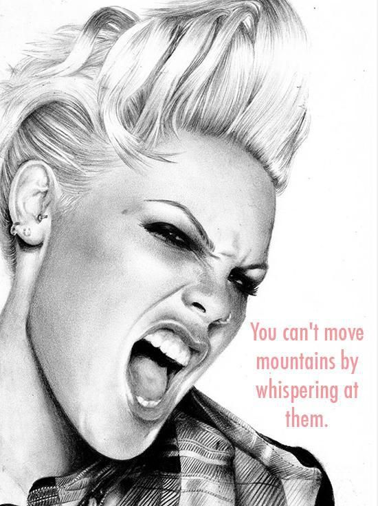 alicia moore 7 Words of wisdom from PINK on her 35th birthday (17 photos)