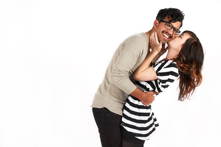 Steve and Sara: Studio Engagement Photography » Edmund Prieto Photographer