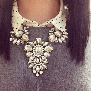 When it comes to statement necklaces, go big or go home