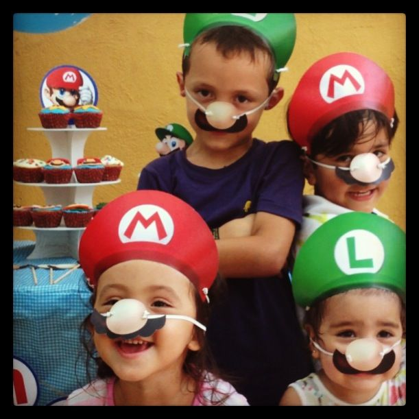 Todos felices siendo Mario Bros