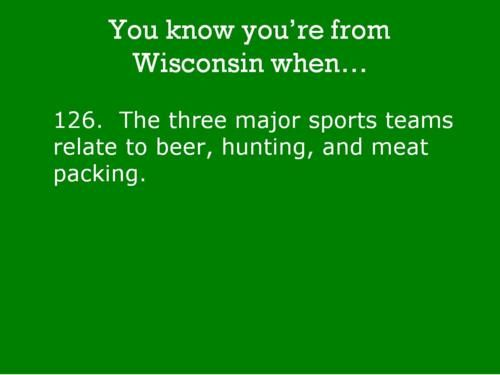 Brewers, Bucks and Packers