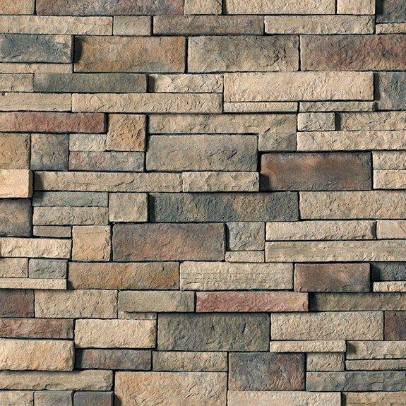 Chardonnay drystack ledgestone cultured stone stone for Boral brick veneer