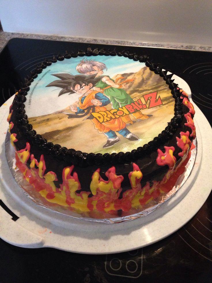 Dragonball Z cake