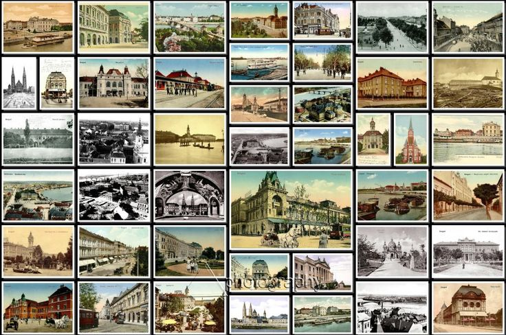 Old Szeged, Hungary Collage-3