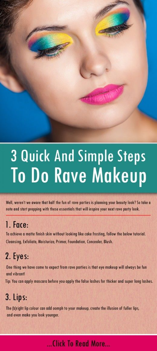 How To Do Rave Makeup?