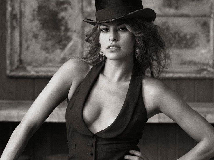 Eva Mendes with Hat