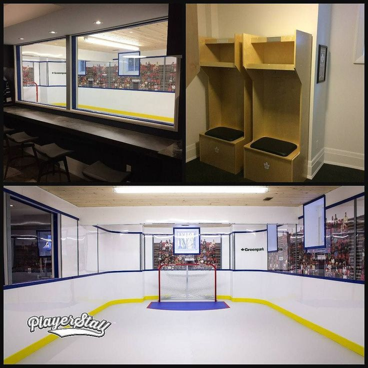 Check out this bad ass basement setup.  Customsportslockers.com  #pucklife #hockey #hockeyswag #hockeylove #hockeylife #basementgym #basementlife #basement #basementremodel #basementreno #nhl #nhlplayoffs #stanleycup #puck #hockeygram #hockeytown #hockeylove #hockeylover #hockeynight