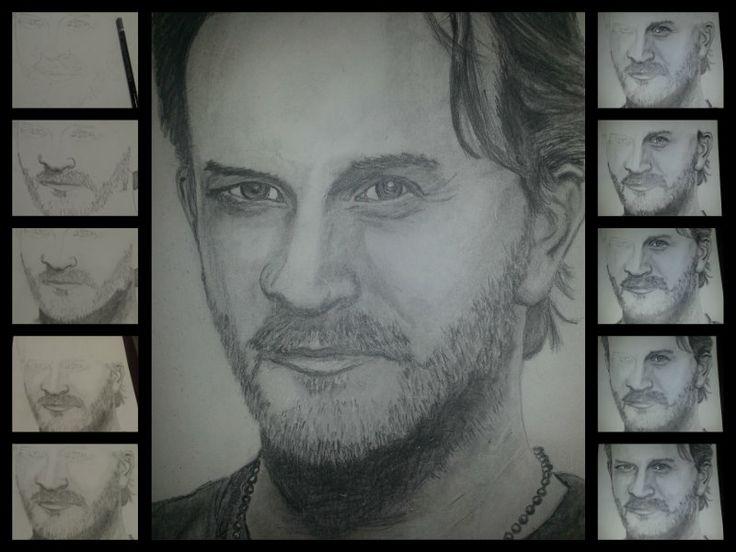 A4 Pencil drawing. Richard Speight Jr
