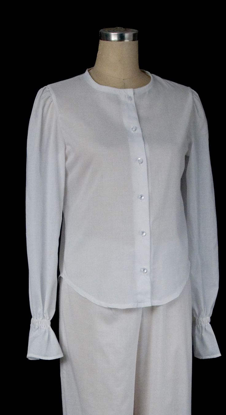 White Blouses With Ruffles