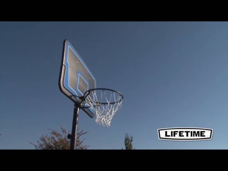 (Coupon Below) The Lifetime 1268 Portable Basketball System Is A Streamline Basketball  System. The 12 Gallon Portable Base Can Be Filled With Water Or Sand.