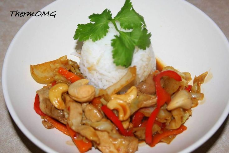 Chicken and Cashew Nut — ThermOMG