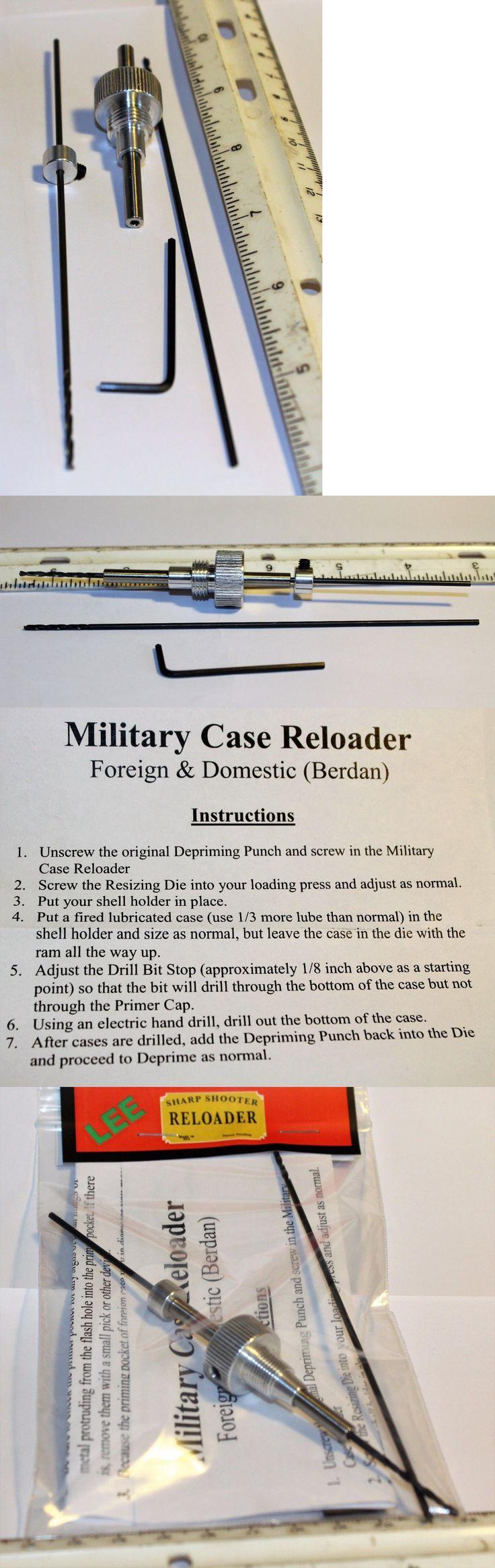 Other Hunting Reloading Equip 7308: Lyman Berdan Case Reloader Brass Steel Lyman Rcbs Lee Redding Hornad -> BUY IT NOW ONLY: $42.75 on eBay!