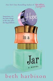 """Click to view a larger cover image of """"Hope in a Jar"""" by Beth Harbison"""