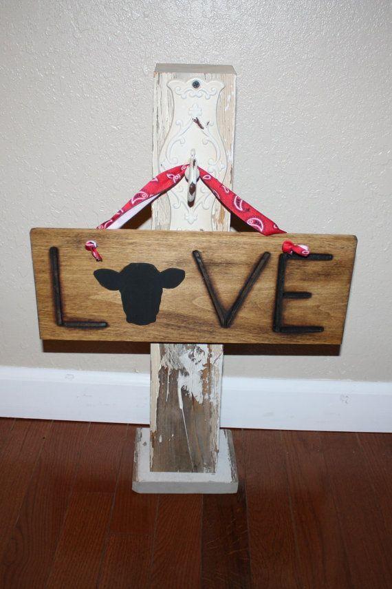 love cows love cattle western rustic farm house by FARMDesigns