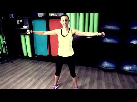 Exercitii de aerobic pentru brate cu Gerda Dumitru