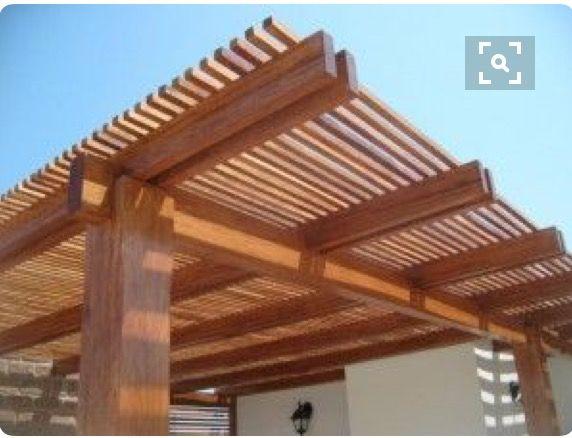 Pin De Loida Vargas En Terraza Construccion Pergolas De Madera Patio