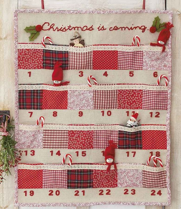 Homemade advent calendar kit | Woman's Weekly | Craft | Sewing                                                                                                                                                                                 Mais