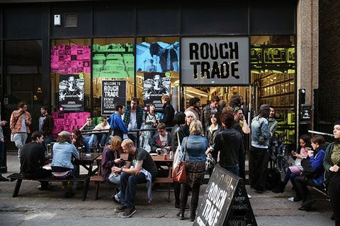 London's Rough Trade record shop is opening up stateside! #music #london #nyc