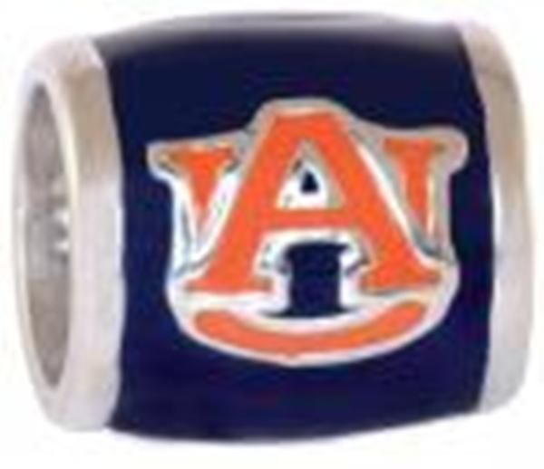 Orange AU Navy Background Bead from Warejewelers.com