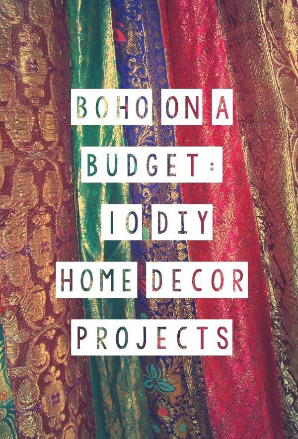 Diy Bohemian Home Decor Projects Diy Boho Diy Hippie Diy Home