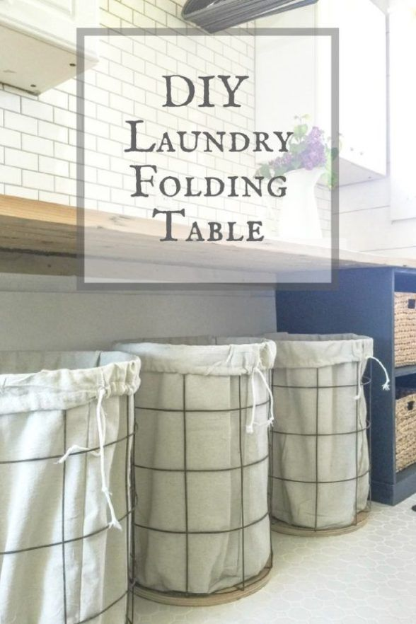 What are laundry folding tables?