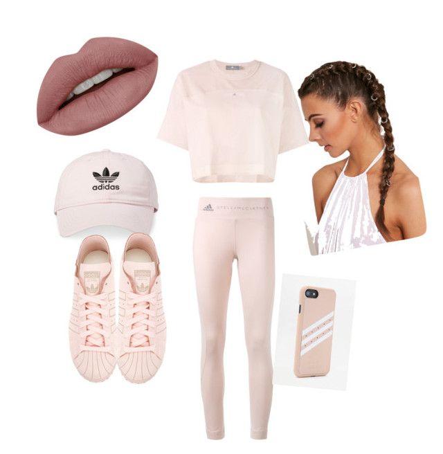 """adidas baby"" by jazzypoohlyfe on Polyvore featuring adidas"
