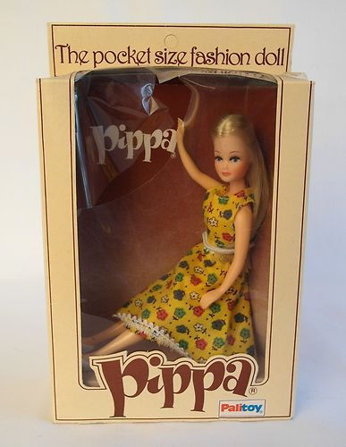 VINTAGE BOXED PALITOY PIPPA DOLL I so wanted one of these plus all her friends but was never allowed. Gutted!