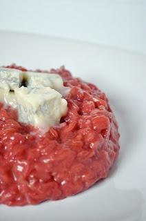 Risotto alla crema di barbabietola e gorgonzola - Beetroot and gorgonzola cheese risotto!