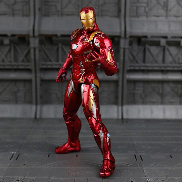"Hot! CAPTAIN AMERICAN CIVIL ACTION FIGURE: Iron Man Tony Stark 7"" Toy Collection 