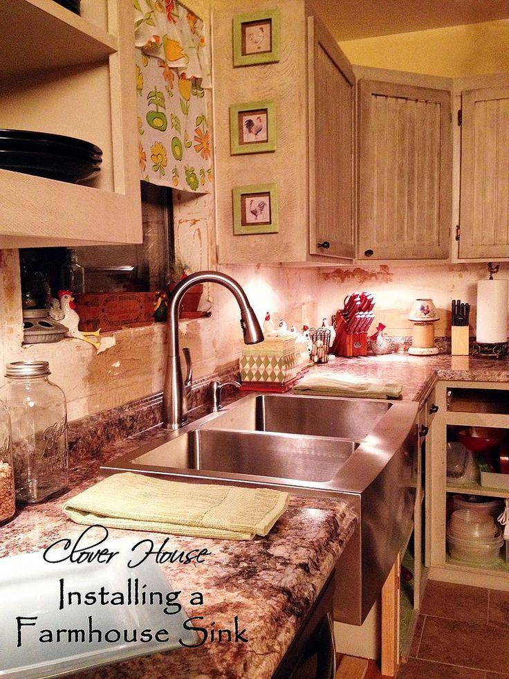 Die besten 25+ rostfreies Bauernhaus Waschbecken Ideen auf - küche landhaus weiß