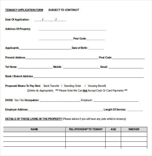 Free Rental Application Form Template Luxury 10 Word Rental Application Templates Free Download Treatment Plan Template Rental Application Word Template