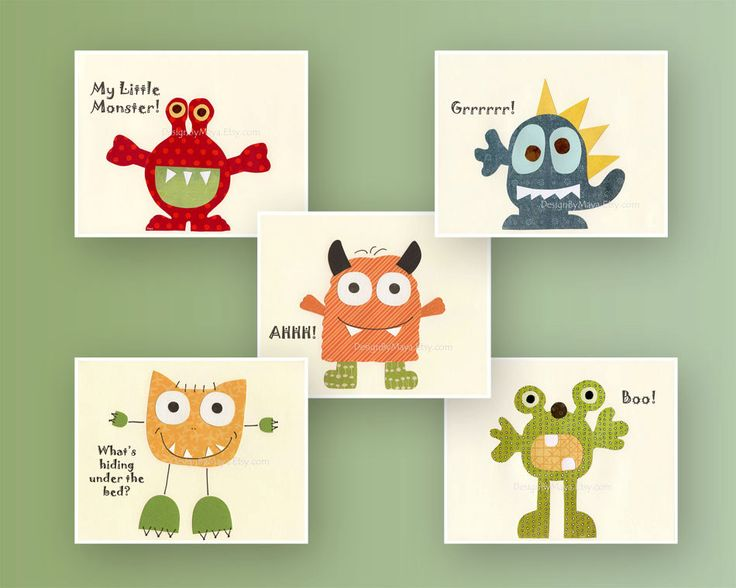 Wall Art For Nursery best 25+ monster nursery ideas on pinterest | spoonflower, kids