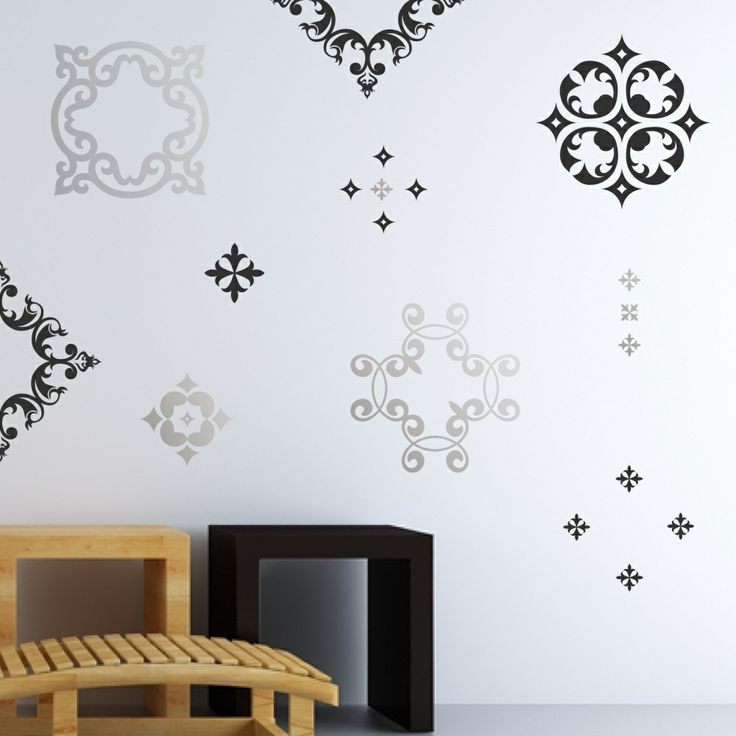 Baroque Pop Wall Decals
