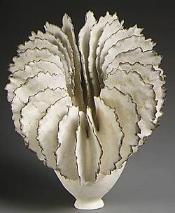 Tilted Flange Cup: Ceramic