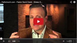 Are you stressed out or maxed out at your job? Check out this video from Pastor David for some helpful tips.