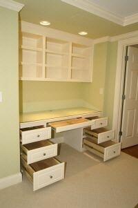 Closet Desks 35 best desks in a closet images on pinterest | closet desk