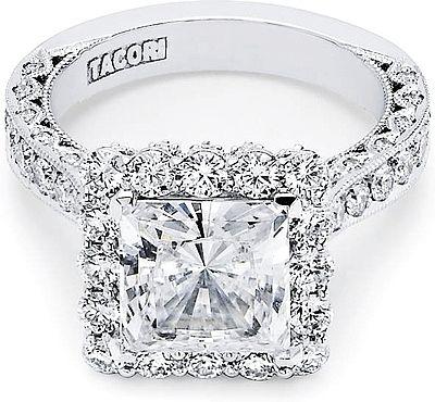 I heart this ring from TACORI! Style no: pretty-princess-princess-cut- engagement-rings-taco