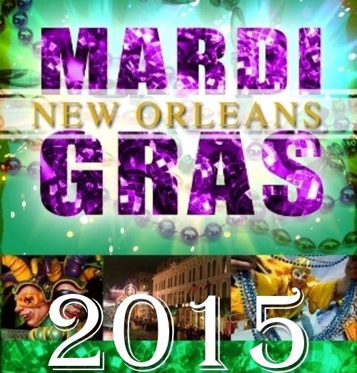 2015 New Orleans Mardi Gras Parade Schedule