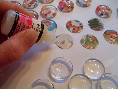 coccinellids: Adventskalender No.10: Glasmagnete-Recycling