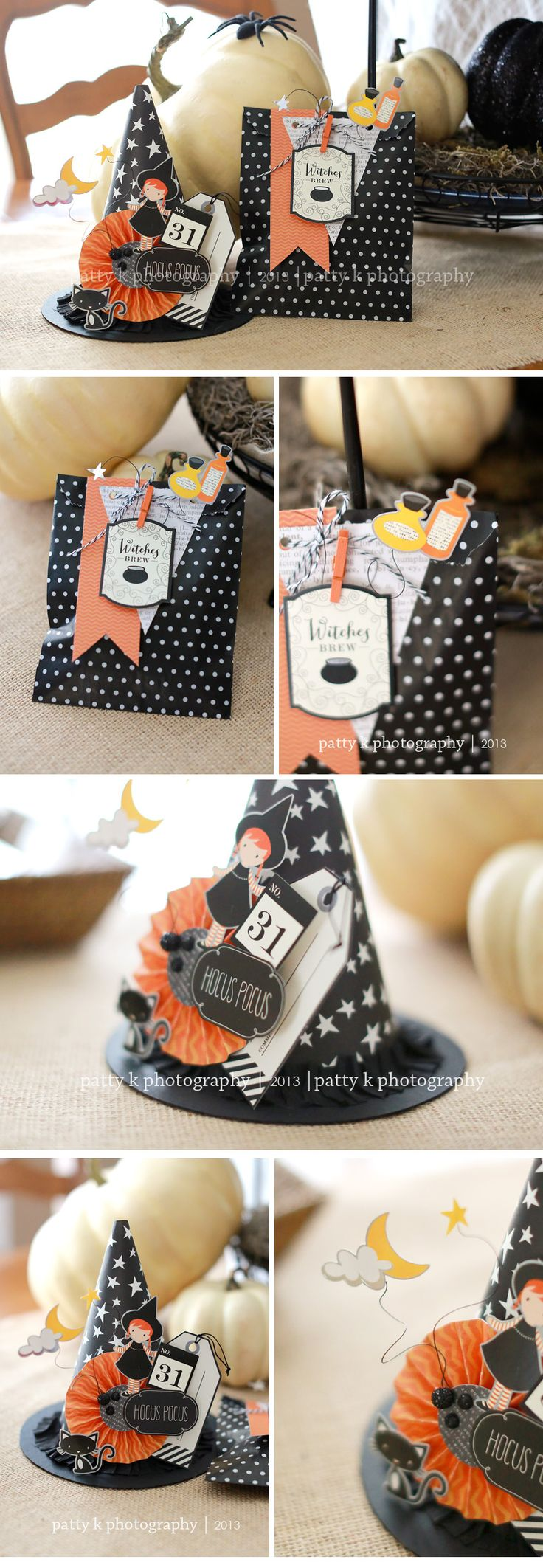 Witch Hat & Goody Bag | Patricia Kumfer