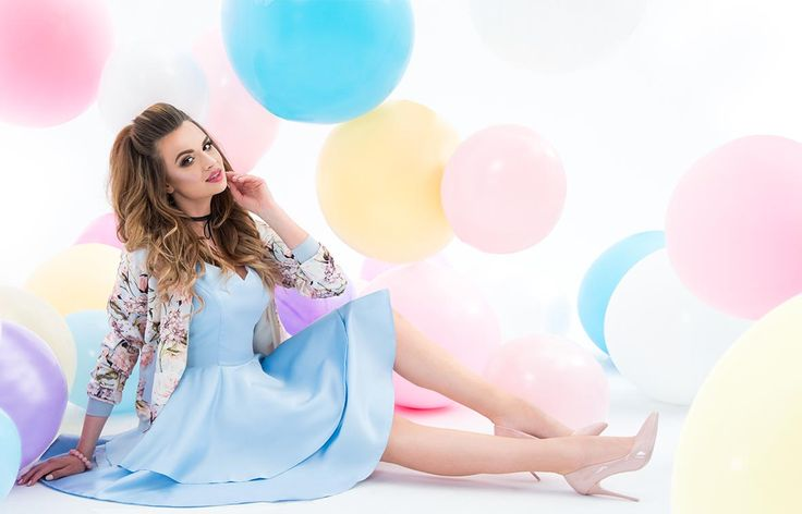 Lookbook - Lovees- modny sklep internetowy! #magdalena michalak #magdalena #michalak #miss #model #modelka #lookbook #baloons #fashion